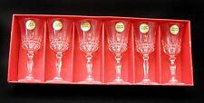 Cristal d'argues-durand Villeneuve Cordial Glass - set of 6 - Discontinued - NIB