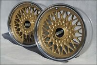 BMW BBS 15 Zoll Alu Felgen E9 E12 E23 E24 E28 E34 E30 M3 M5 Mahle RZ RS RC