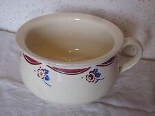 Pot de chambre, de complaisance en céramique Luneville
