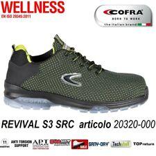 Scarpe antinfortunistiche Cofra Revival S3 SRC Scarpa da lavoro antistrappo 2032