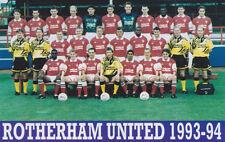 ROTHERHAM UNITED FOOTBALL TEAM PHOTO>1993-94 SEASON