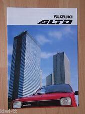 Suzuki Alto (3-deurs) / Alto GL (3+5 deurs), Prospekt / Brochure / Depliant, NL