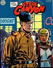 STEVE CANYON #12 by Milton Caniff (1985) Kitchen Sink Comics magazine FINE