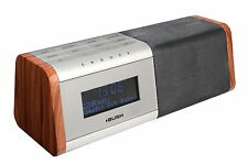 BUSH BCR35DABW DAB ALARM CLOCK RADIO WITH USB CHARGE FOR SMART PHONES-NEW