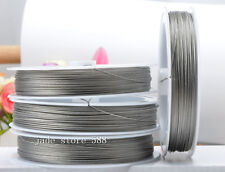 70m Stainless steel beading wire Charm jewellery finding 0.38mm