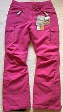 Hyra Womens Ski Snowboard Pants Salopettes Ladies Trouser L Pink NEW