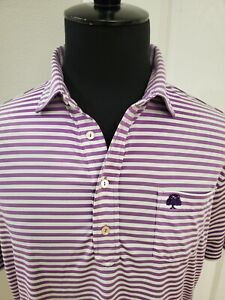 Peter Millar Summer Comfort Golf Polo Men Size Medium Check Details