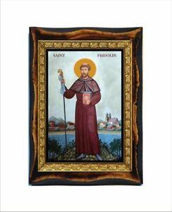 Saint Fridolin - Fridolin de Säckingen - San Fridolino di Säckingen - São Fridol