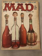 Vintage MAD Magazine Issue No. 42 November 1958; RARE; Fair Condition