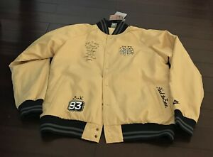 NIKE NikeLab X GROTESK COLAB 09 PIPE DREAM TEAM BOMBER JACKET Vintage Gold NYC