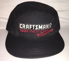 Vtg 1993 Craftsman Indy Car Racing 5 panel Snapback hat cap supreme made in usa