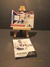 2010-11 Panini All Goalies Stopper Sweaters White #11 Devan Dubnyk + 10 Base