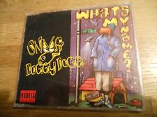 SNOOP DOGGYDOGG WHAT´S MY NAME? 5 TRACKS CD SINGLE 1993 WEST GERMAN PRESS USED