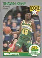 1990-91  NBA Hoops Shawn Kemp Seattle Supersonics Rookie #279.