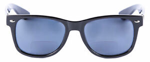 Classic Style Bifocal Reading Sunglasses for Men and Women - Hard Case Included