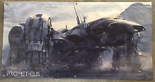 Prometheus spaceship banner movie book figure film poster alien planet no toy us