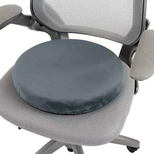 360° ROTATING HEATED SWIVEL SEAT CUSHION FOR CAR CHAIR MOBILITY AID MOVING PART