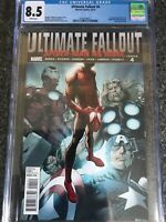 Ultimate Fallout #4 First Print Marvel 2011 1st Miles Morales Spider-Man CGC 8.5