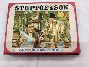 Vintage 1964 Tower Press Jigsaw Puzzle Steptoe & Son Boxed And Complete