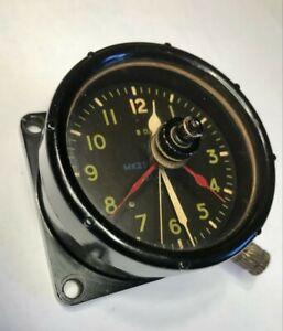 Aircraft Clock Typhoon/Spitfire Type 6A/1275 Mk2D Dated 1944.  Working.