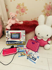 V-Tech Storio Max 7 Pink Mit Zubehör Interaktives Lerntablet Mit Spiele Np 250
