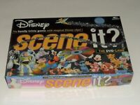 Disney Scene It DVD Trivia Board Game 2004 Mattel 100% Complete ~LN~