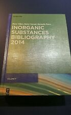 De Gruyter Reference: Inorganic Substances Bibliography by Pierre Villars,...