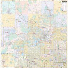 Oakland County, MI Wall Map