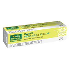 Thursday Plantation Tea Tree Medicated Gel For Acne 25g-Dry Out Pimples and Acne