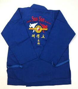 Century Adult Unisex Blue Size 4 Cotton Middleweight Brushed Uniform 10 oz