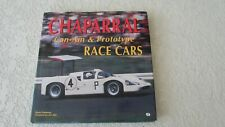 Chevy Chaparral race cars Can Am proto Jim Hall hardbound book photos stories