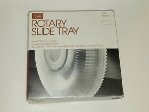 SEARS Rotary Slide Tray 2x2 Slides Holds 100 Vintage New Old Stock Sealed in Box