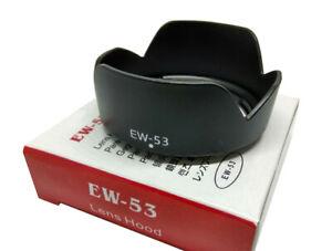 EW-53 Lens Hood for Canon EOS M10 EF-M 15-45 mm f/3.5-6.3 IS STM Lens - UK STOCK