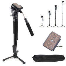 Yunteng C288 Pro Monopod+Fluid Pan Head Ball+DV Unipod Holder for Canon Camera.