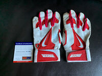 Mike Trout Game Used Signed (1) Batting Gloves Psa/Dna Coa PROOF