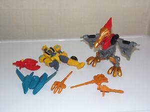 HERO Mashers Transformers SPARES Incomplete Action Figures Strafe / Marvel Super