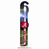 -  Alabama Crimson Tide NCAA 1 Pack Toothbrush - White