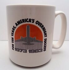 Vintage Federal Express Mug - FED EX 10th Anniversary 1973-1983