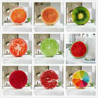 Fruit Design Throw Pillow Round Soft Plush Cushion Seat Pad Couch Chair Sofa Bed