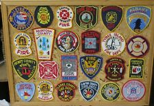 GEORGIA FIRE/RESCUE PATCHES! SET ONE! LOT OF 24! See Item Description!