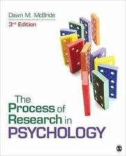 The Process of Research in Psychology by Dawn M. McBride (2015, Paperback)