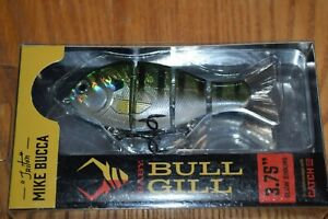 "Catch Co. ""Triton"" Mike Bucca Baby Bull Gill 3.75"" Swimbait (Natural Gill) NIB"