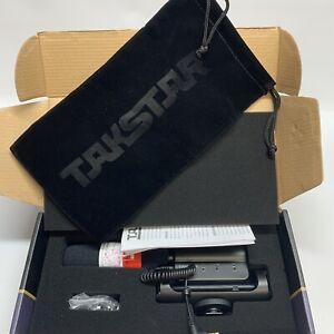 TAKSTAR SGC-598 Interview Shotgun DSLR Vlog Microphone