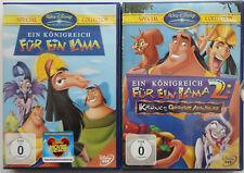 Disney DVD Ein Königreich für ein Lama 2 DVD's