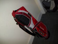 OGIO Silver Lightweight Carry Golf Bag, Red with Coca Cola logo - New with Tag