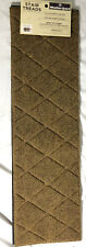 """2-Pack of Weather Guard Indoor/Outdoor Argyle Camel 8.5""""x30"""" Stair Treads"""