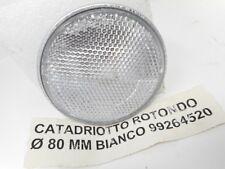 CATARINFRANGENTE ROTONDO 2 PEZZI DIAMETRO 65MM BIANCO CON FORO