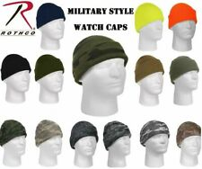 Military Acrylic Watch Cap Deluxe Winter Beanie Hat .