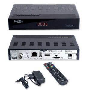 Xoro HRT 8729 DVBT 2 Receiver HDTV 3 Monate freenet TV dvb t2 receiver ⭐️⭐️⭐️⭐️⭐