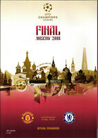 CHAMPIONS LEAGUE FINAL 2007/2008 Manchester United - Chelsea London in Moscow